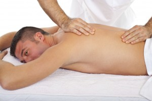 sport massage and back massage for back ache and back pain