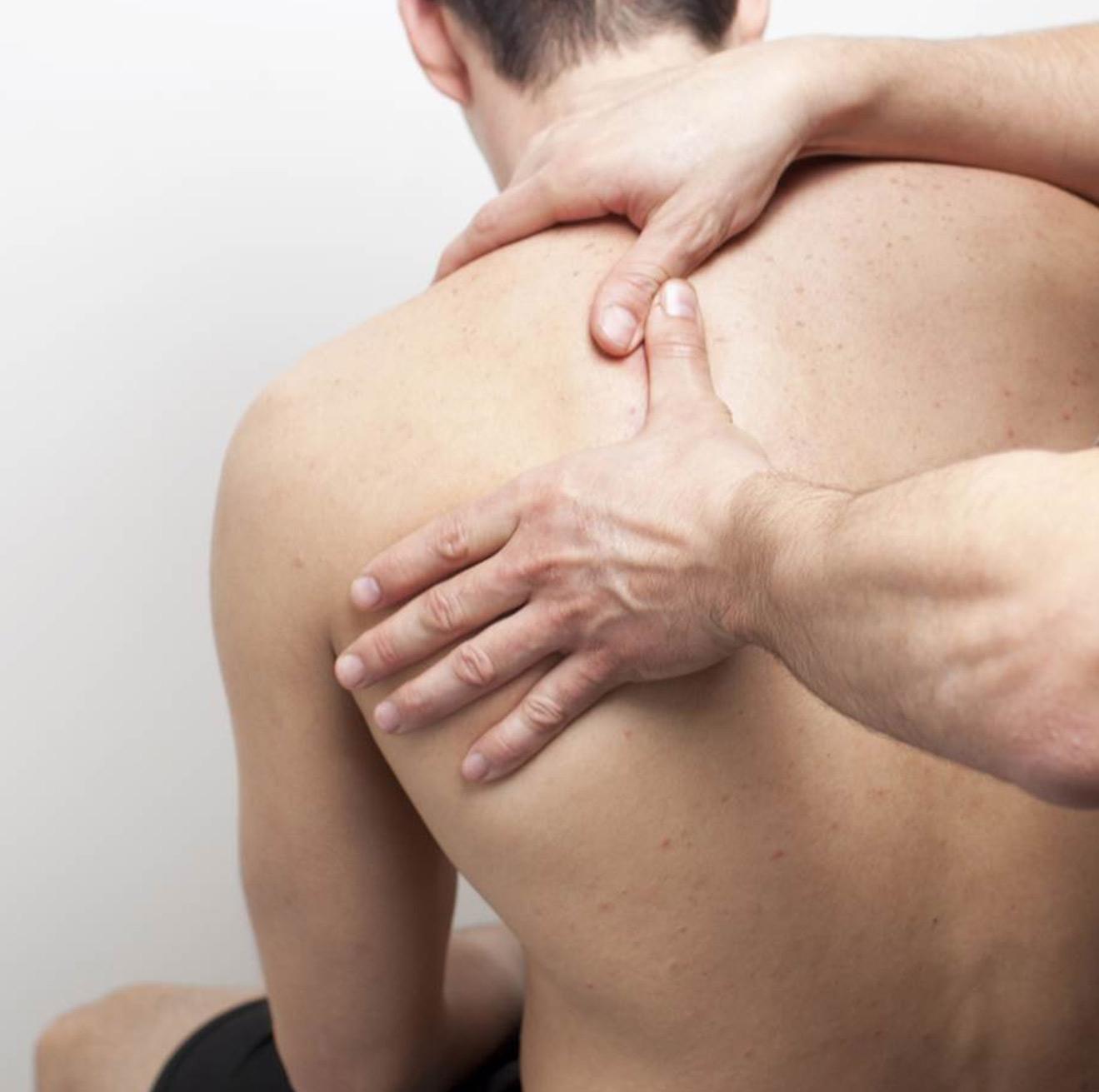 Back pain massage
