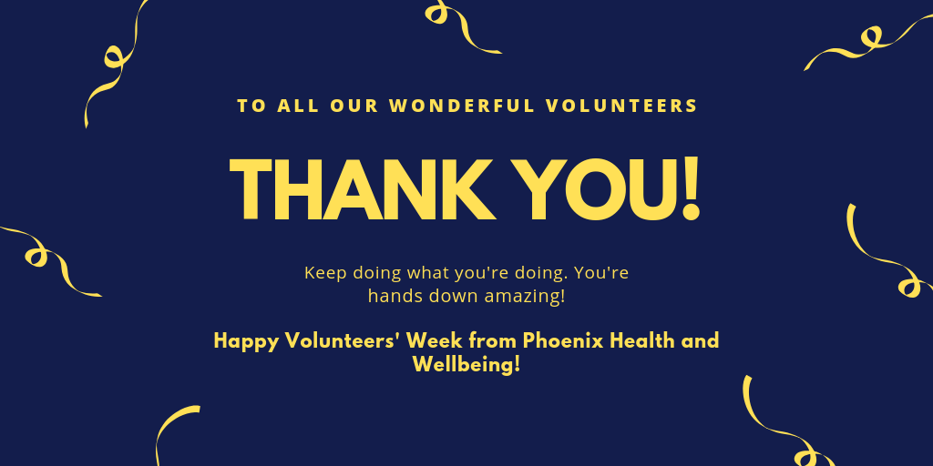 Thank You! (Volunteers' Week)
