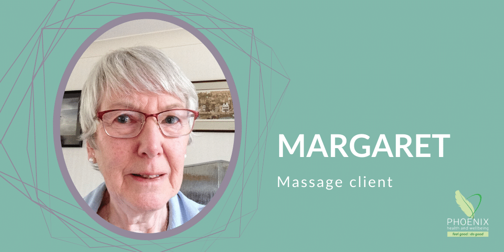 Margaret – Massage Client