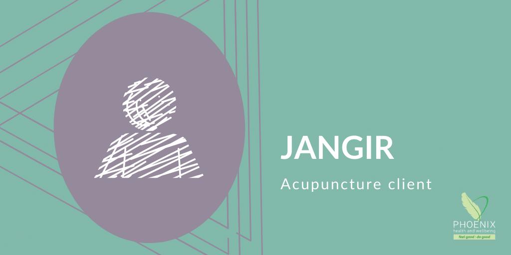Jangir – Acupuncture Client